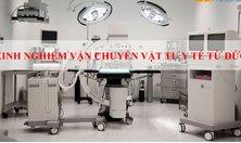 Kinh nghiệm vận chuyển vật tư y tế từ Đức về Việt Nam